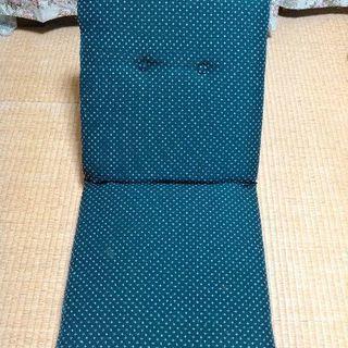 座椅子 折り畳み式 5段階に調節可能❗