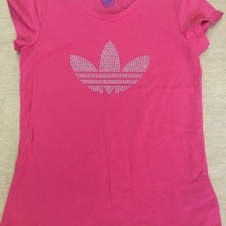 Adidas ラインストーン Tシャツ