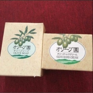 有名♡小豆島セット❗️⭐︎オリーブハンドクリーム、オリーブソープ