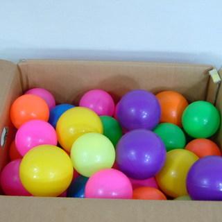 カラーボール 48個 大小 ボールプールに