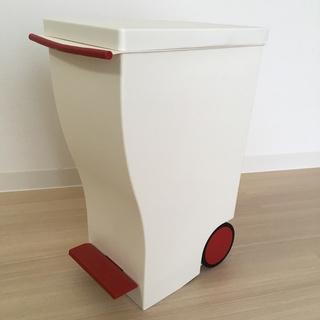 中古 kcud(クード) mini スリムペダルペール 20L ごみ箱