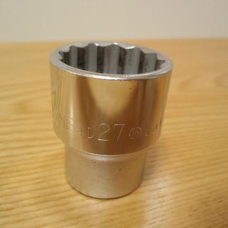 ソケットレンチ 27mm  差込口12.7mm