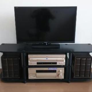 テレビ台(ブラック)