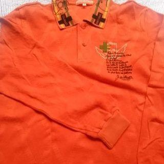 ポロシャツ長袖 CAASTEL  BAJAC1サイズ1