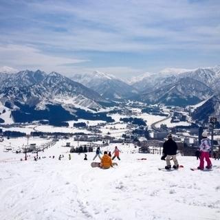 スキー場で楽しく稼げるお仕事しませんかっ(^○^)ノ♪
