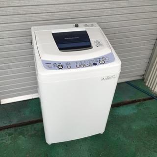 配達可 外装洗浄済 7kg洗濯機 東芝 2009年製 AW-207(w)