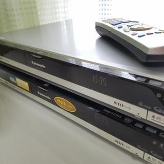 Panasonic DVD&HDDレコーダー ディーガ400GB