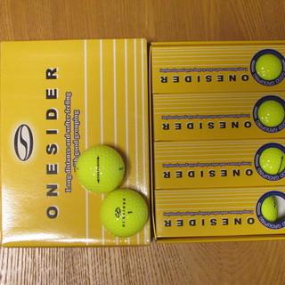 ゴルフボール新品未使用 つるやONESIDER 非公認球