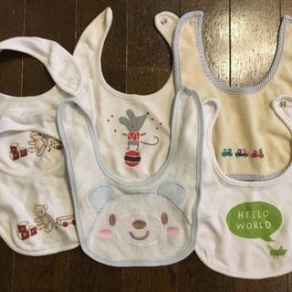 【スタイ♬】赤ちゃん用アブアブ6枚セット☆