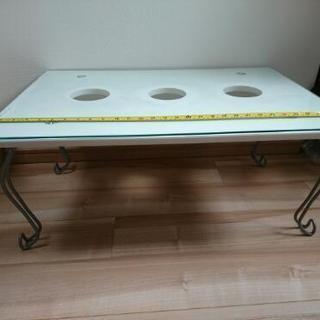 折り畳みテーブル センターテーブル