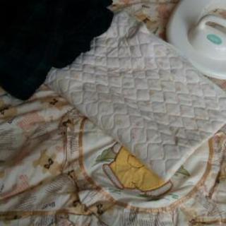 赤ちゃん用の布団セット、子供用おまる、おくるみ、ベビースリング