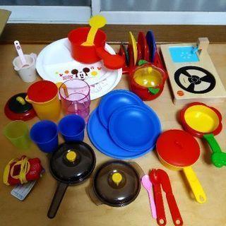 ままごと お皿やお鍋など色々