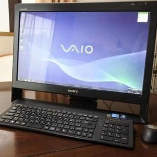 VAIO モニター一体型 デスクトップパソコン(core i7 m...