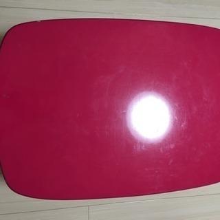 ピンク ローテーブル