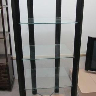 【BELL'OGGETTI】イタリア製◆ガラス棚◆ラック◆ディスプ...