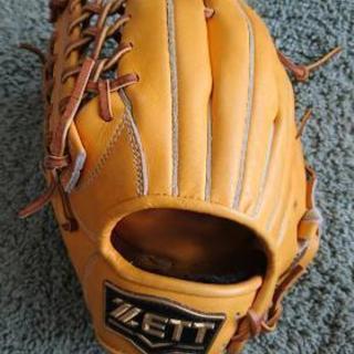 ZETT野球グローブ 左投げ用