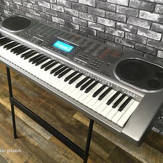 動作品 カシオ CASIO 電子ピアノ スタンド付 キーボード L...