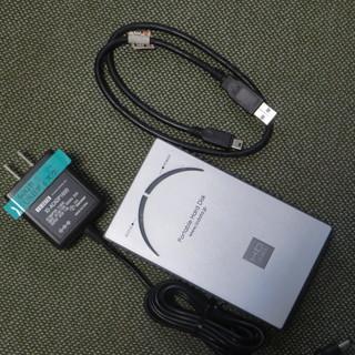 無料 60GB ポータブルHDD 完動品