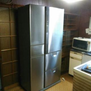 【無料】冷蔵庫(薄型、幅広)418リットル