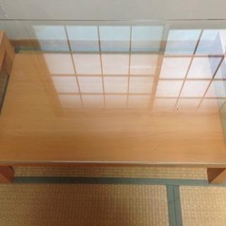 お洒落☆ガラステーブル