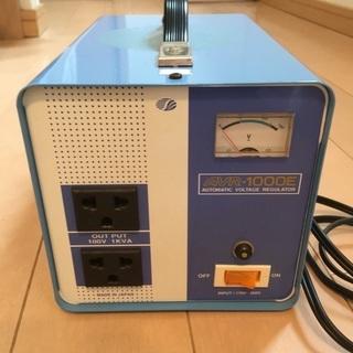 電源変圧器(スワロー AVR-1000E) - 海外赴任時の家電利用等に