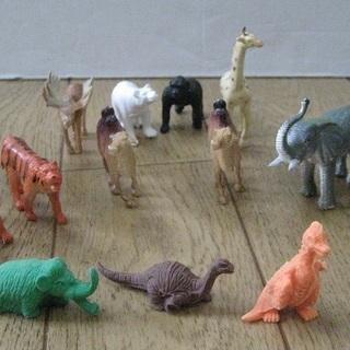 こみちのオモチャ♪ 動物&恐竜ミニチュアセット
