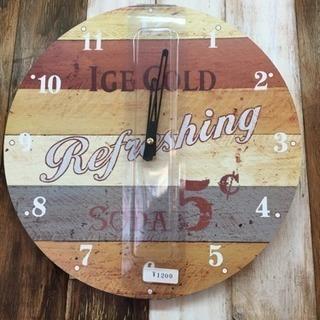 新品‼️壁掛け時計 デザイン違い