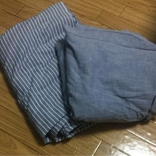 無印良品 シングルベッドカバーセット