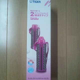 タイガー 2WAY ステンレスボトル<サハラ> 1L ピンク
