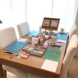 【募集】心を元気に!!お茶を楽しみながらパステル和みアート教室@吉川南美
