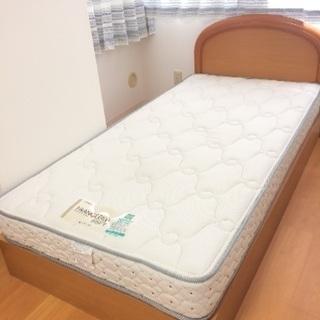 シングルベッド(フレーム&マットレス)