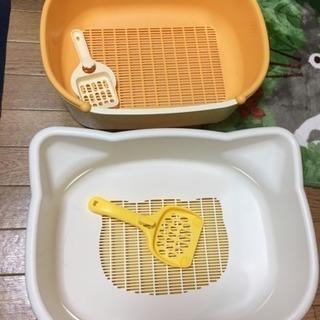 猫用 トイレ☆2個セット☆デオトイレ&ニャンとも清潔