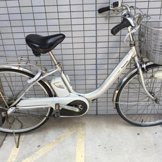 電動アシスト自転車 Panasonic vivi nx シルバー
