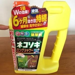 ●液体6ヶ月有効除草剤
