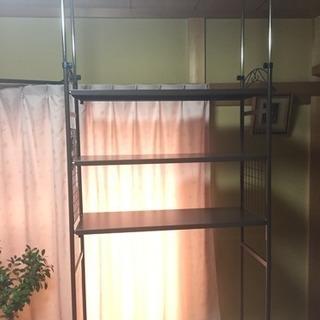 組立式スライド収納棚