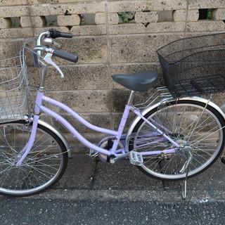 24インチの自転車を売ります