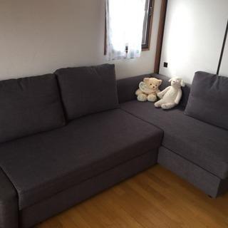 美品ソファ 値下げ ダブルベッド簡単になれます