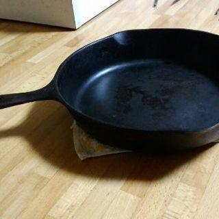 鉄製フライパン(アメリカ製)