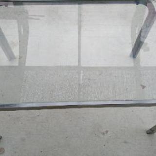 ●懐かしのガラステーブル