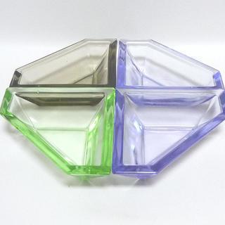 ガラスの小皿 4個セット