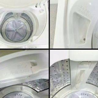 濃い洗浄液で洗い始め、パワーを引き出す洗濯機  2016年式SHA...