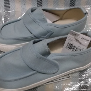 【新品未使用】靴 19センチ 水色 、紺色2足 計3足あります