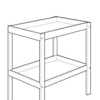 IKEA イケア チェンジングテーブル SNIGLAR オムツ交換台