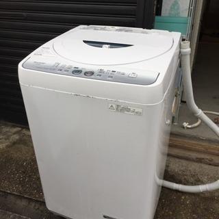 SHARP全自動洗濯機4.5キロ
