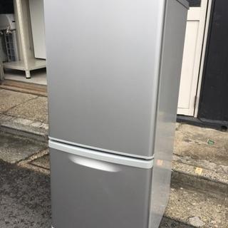 Panasonic2ドア冷蔵庫138L