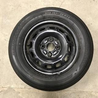 165/70R13 タイヤ、ホイールセット