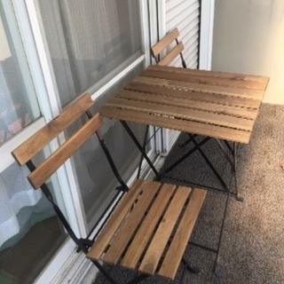 IKEA テーブル&チェア2つセット 定価7,390円(税込)