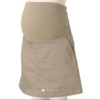 注!黒です!台形スカート 無印良品 マタニティ