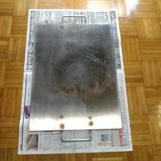 本格派BBQ用ステンレス6mm鉄板