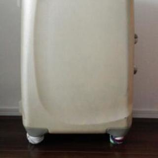 スーツケース ゴムタイヤなし